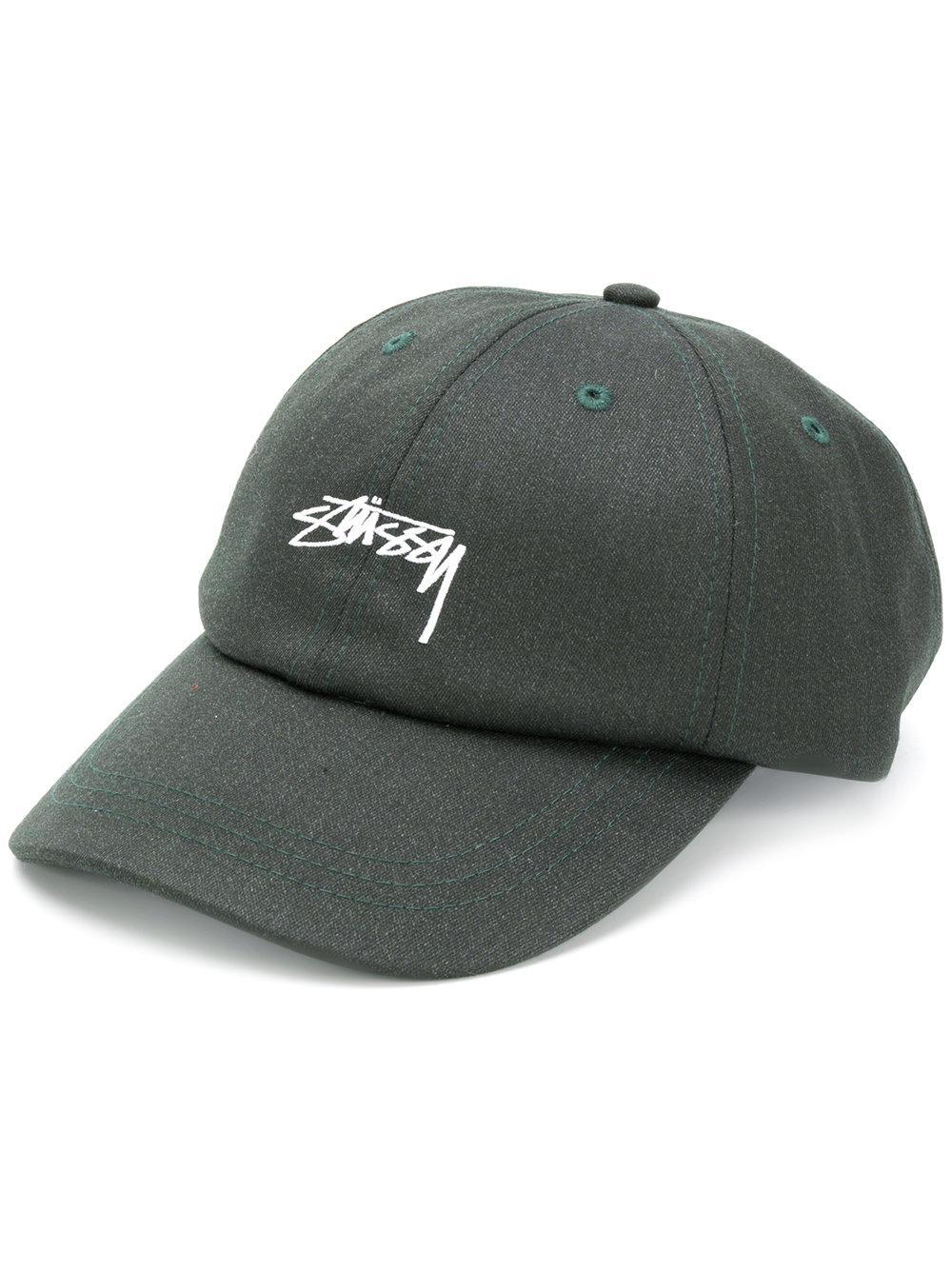 496fb19d95b31 Stussy Embroidered Logo Baseball Cap