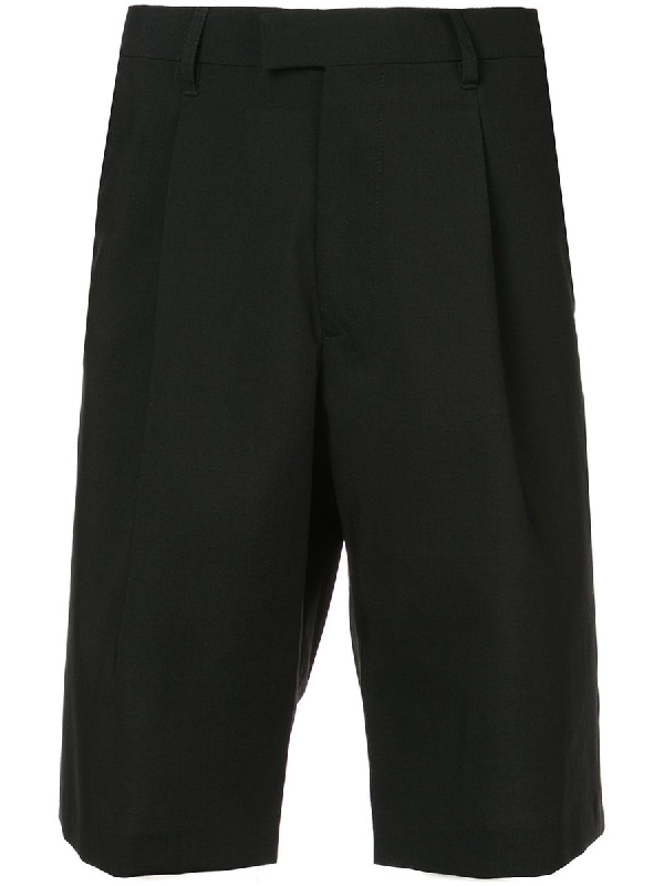 Raf Simons 'substance' Detail Print Bermuda Shorts