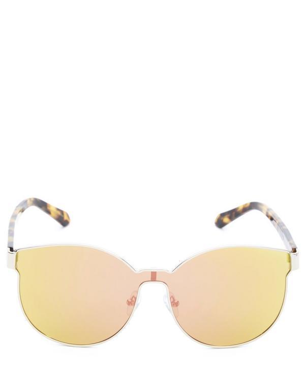 bf876283587f1 Karen Walker Star Sailor Mirrored Lens Sunglasses In Gold