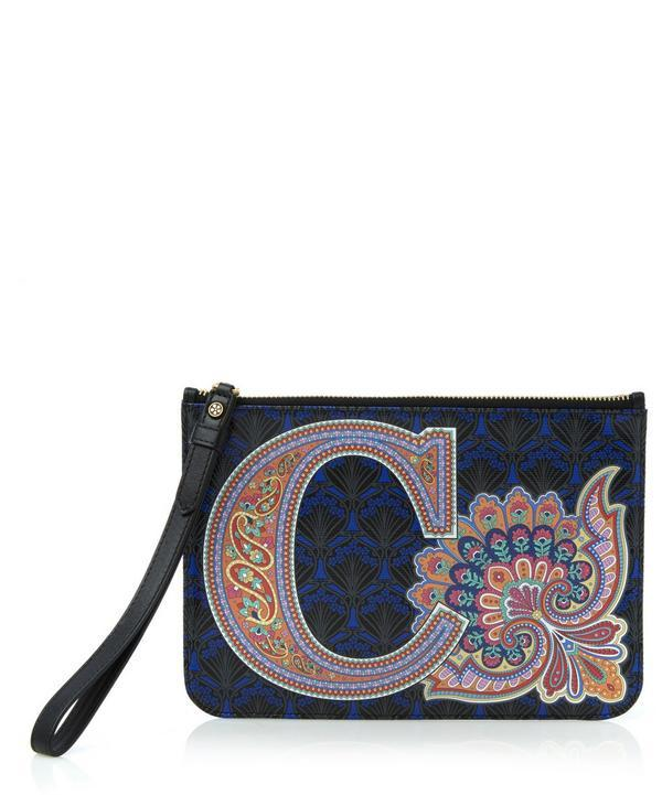 Liberty London Wristlet In C Print In Wentworth Paisley
