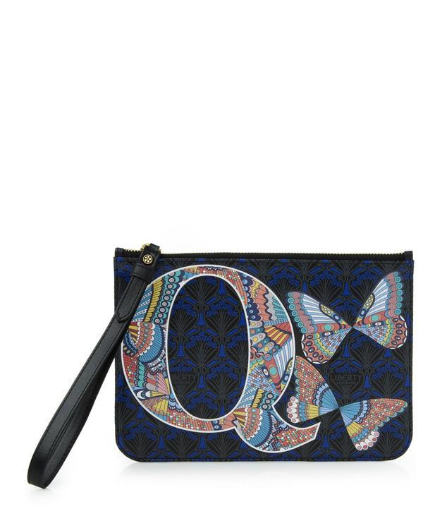 Liberty London Wristlet In Q Print In Papillon Meadow