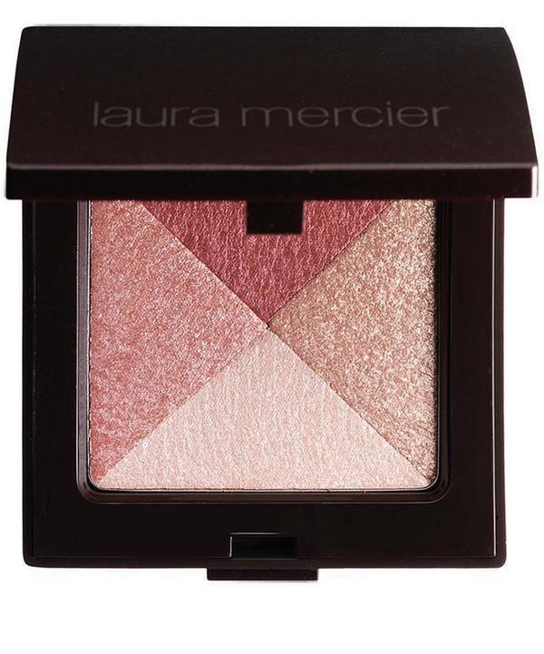 Laura Mercier Shimmer Block In Pink Mosaic In Pink Mosaic - Shimmery Gold Ro
