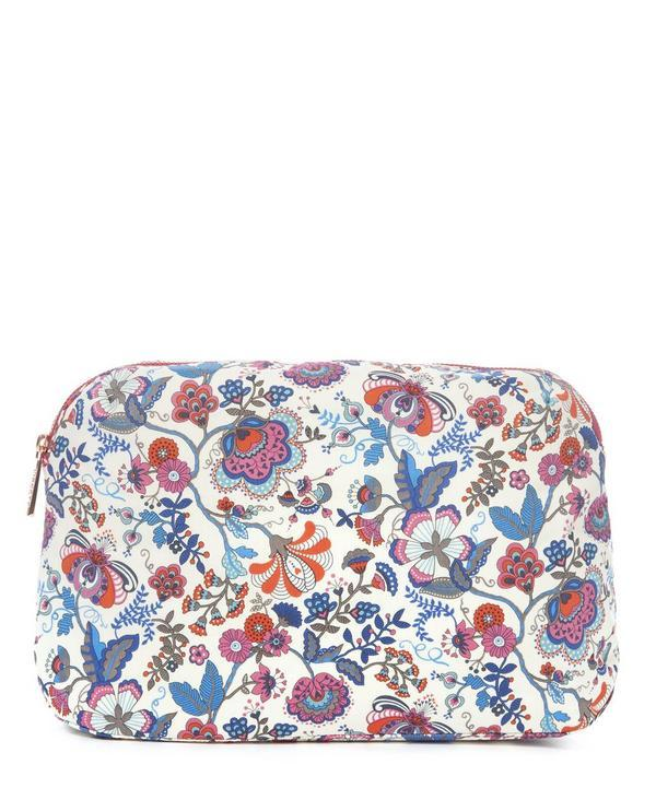 Liberty London Large Mabelle Wash Bag In Multicolour