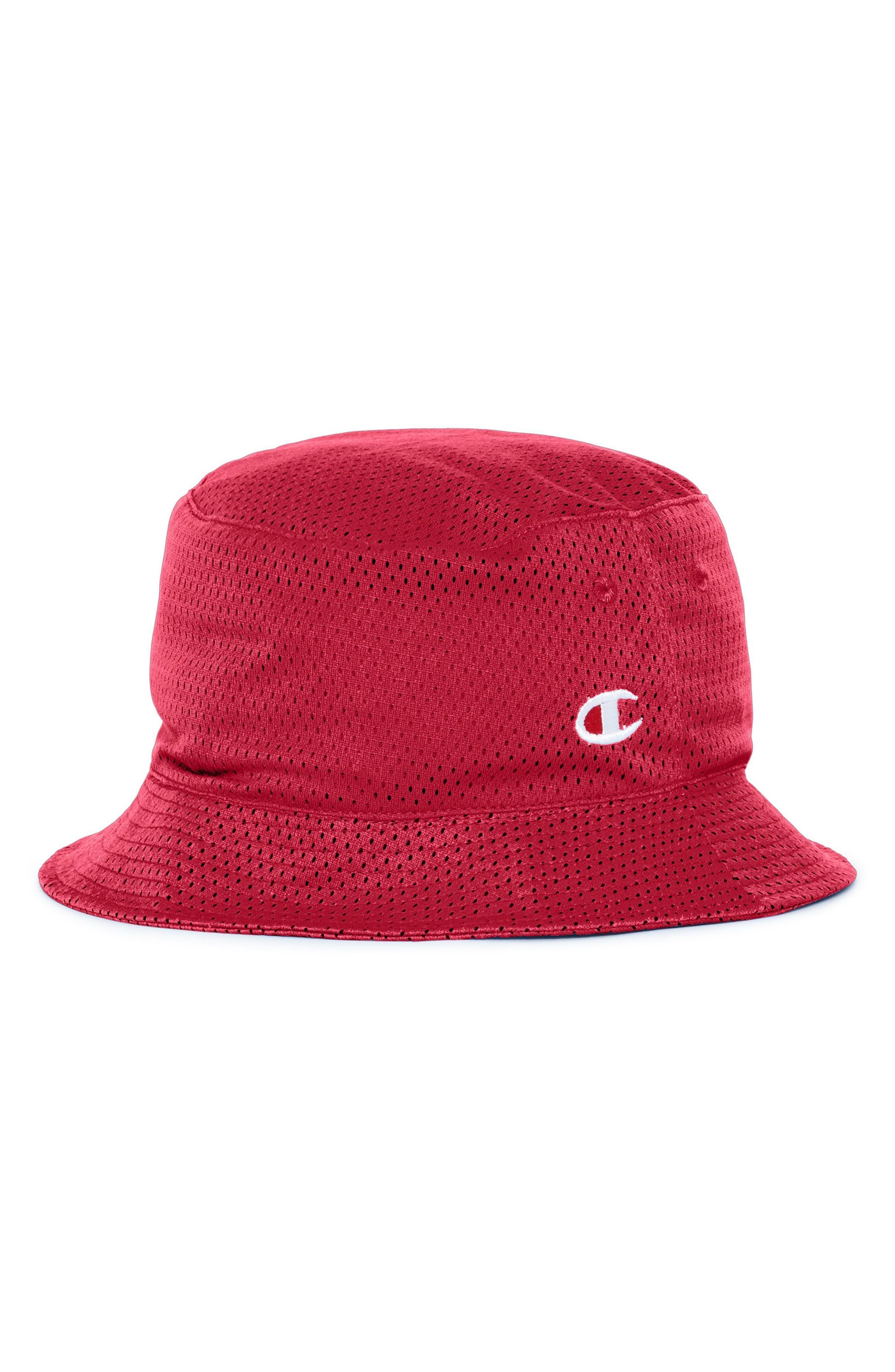 9c80912a Champion Reversible Mesh Bucket Hat In Imperial Indigo/ Scarlet ...