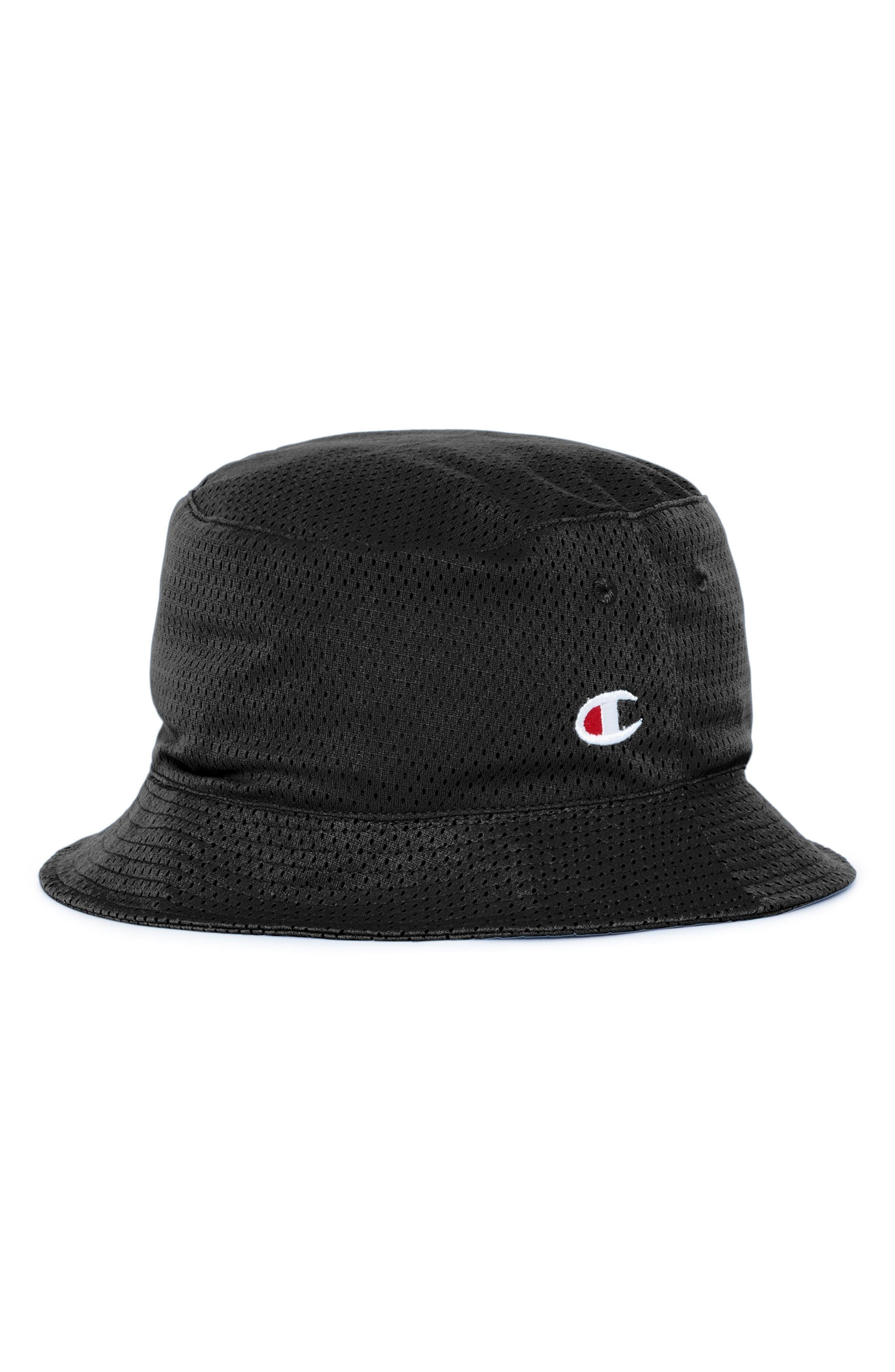 d90f65ceb40 Champion Reversible Mesh Bucket Hat In Silverstone  Black