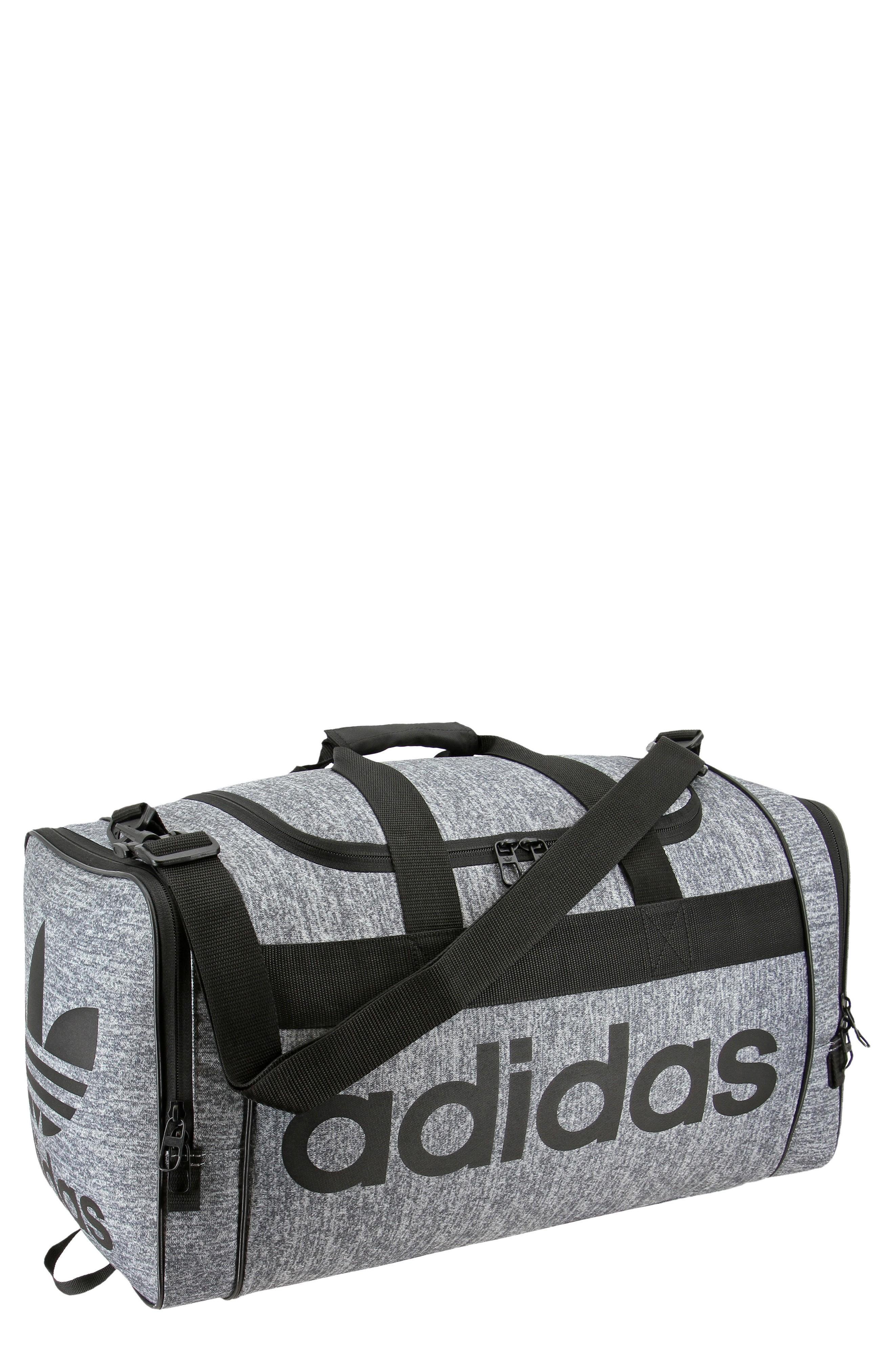 f6a8b05a6 Adidas Originals Santiago Duffel Bag - Grey In Med Grey   ModeSens
