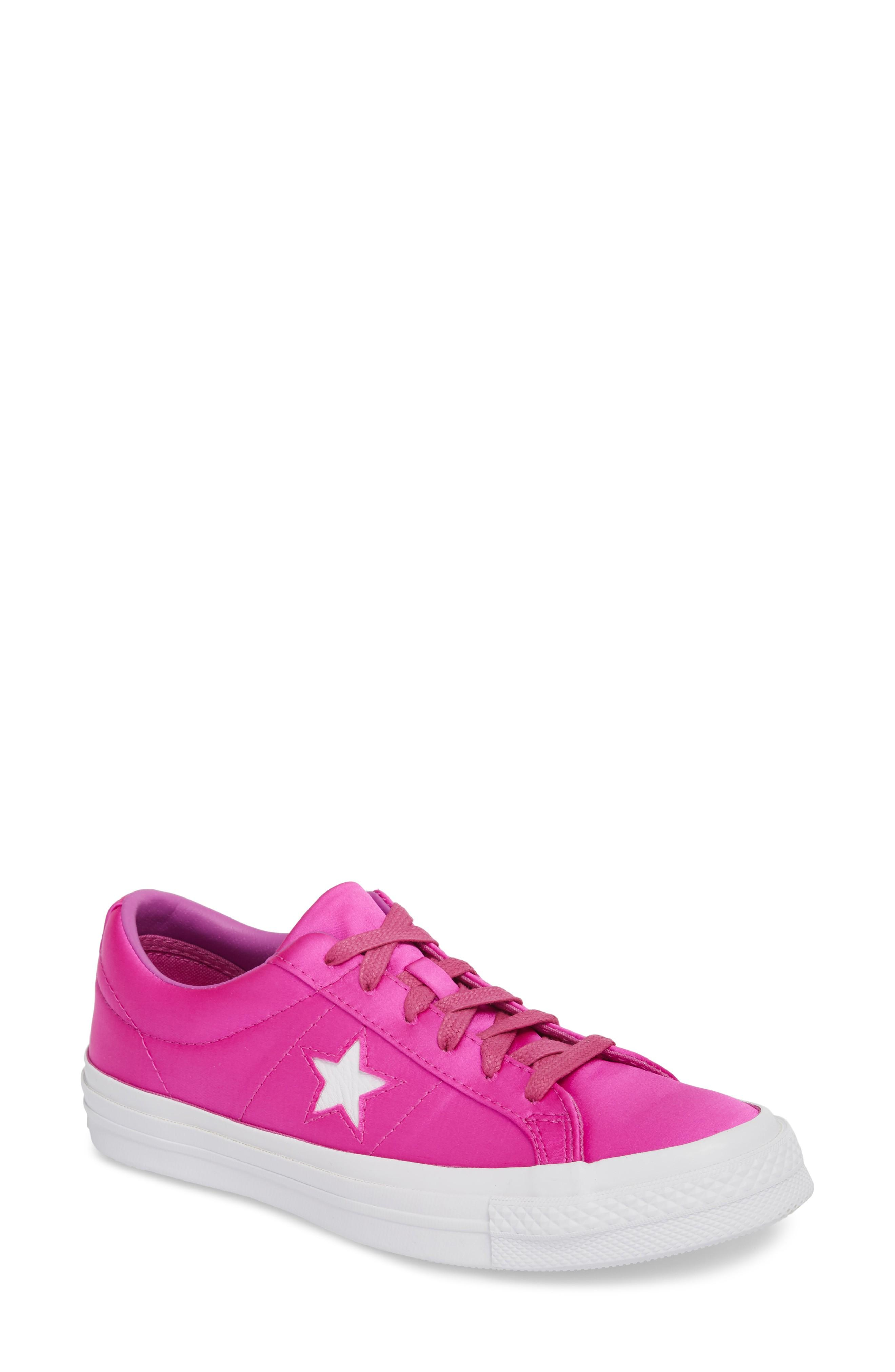 ccd2beef17a6 Converse Chuck Taylor All Star One Star Low-Top Sneaker In Hyper Magenta