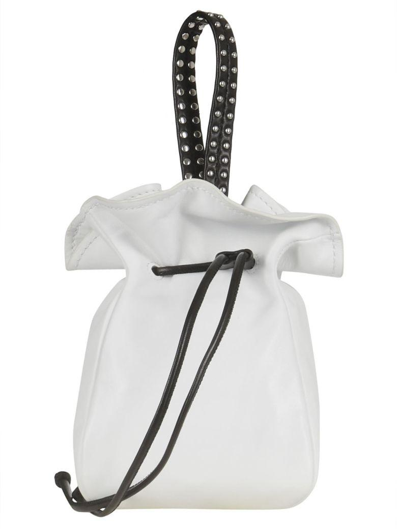 3.1 Phillip Lim Phillip Lim Mini Punching Bucket Bag In Bianco