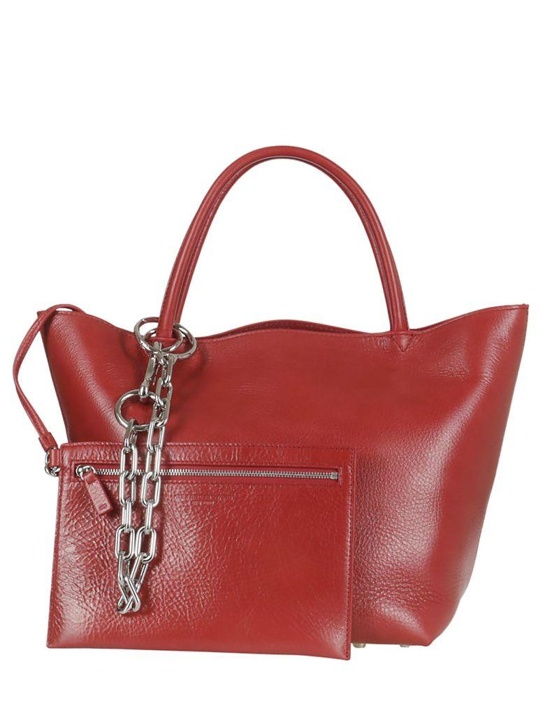 Alexander Wang Chain & Pouch Tote In Lipstick