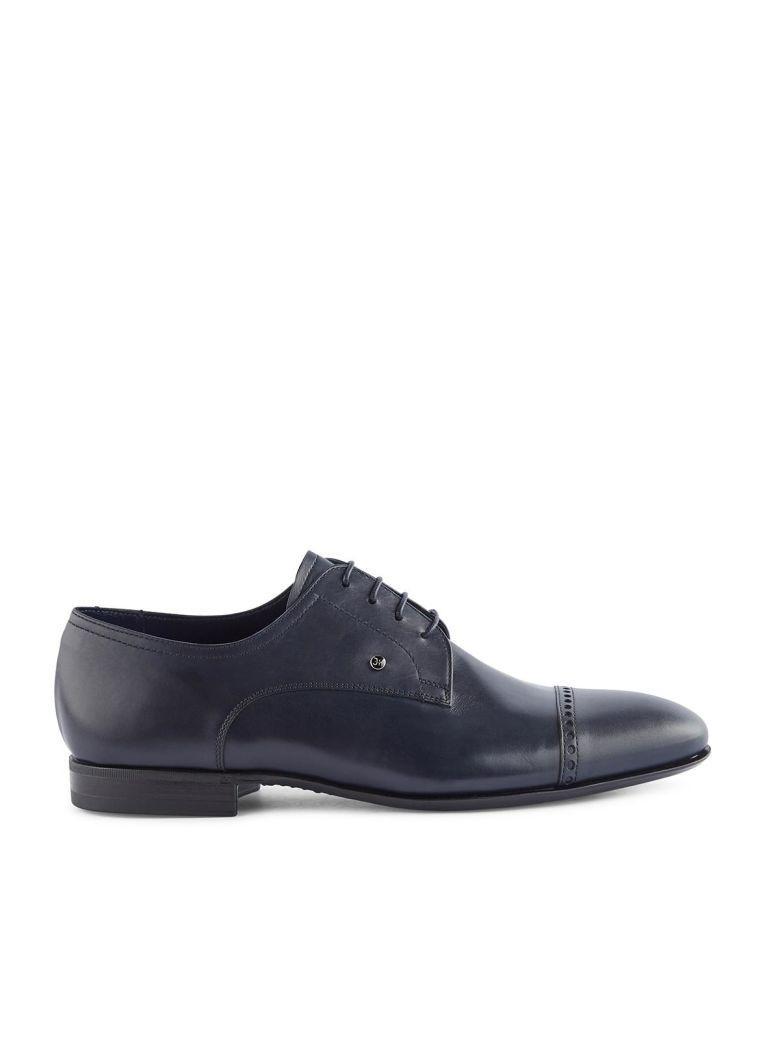 Fabi Laced Shoes In Blu Notte