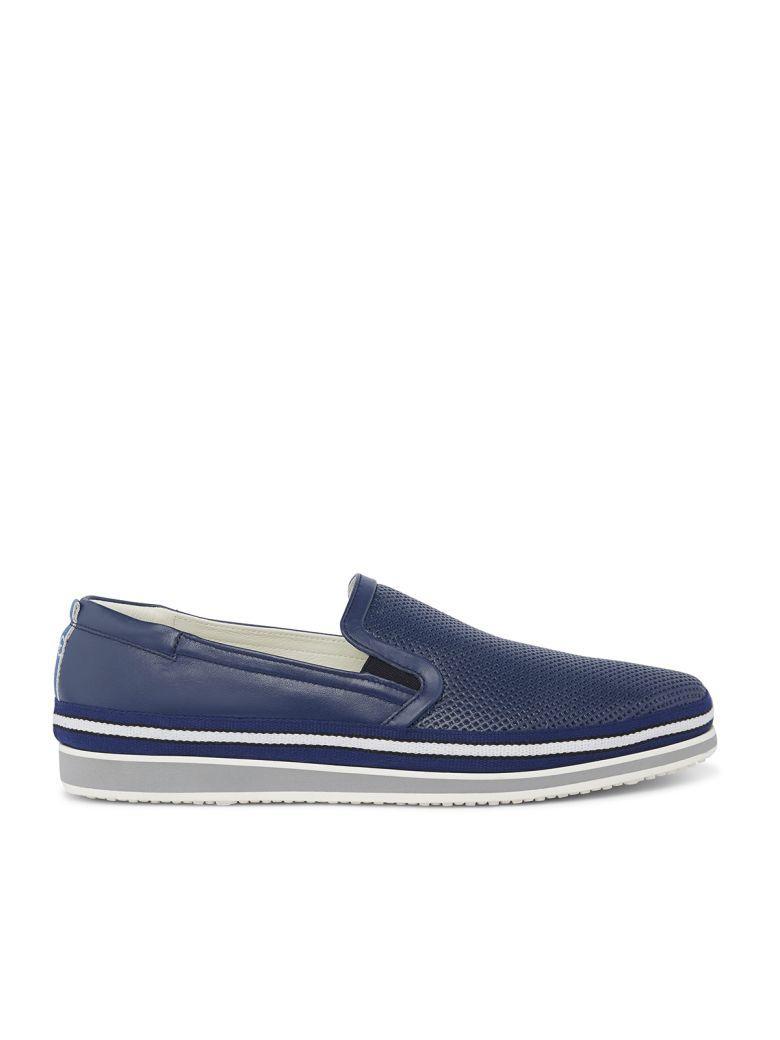 Fabi Sneakers In Blu Oceano