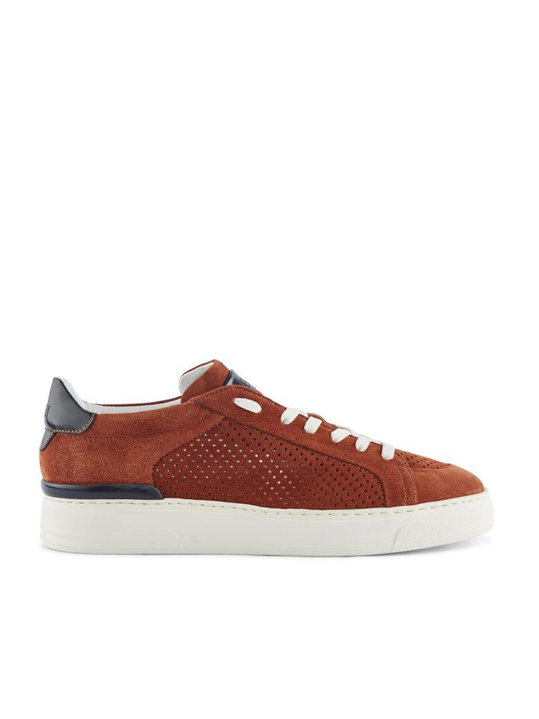 Fabi Sneakers In Bordo'+blu Notte