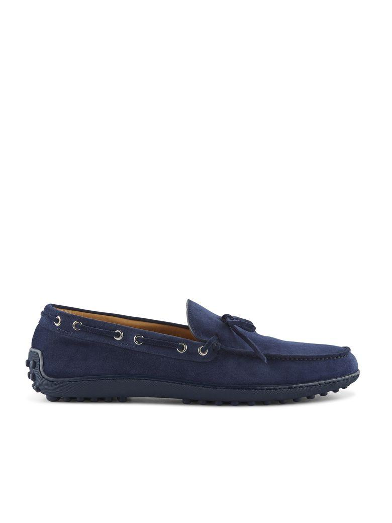 Fabi Loafers In Blu Navy