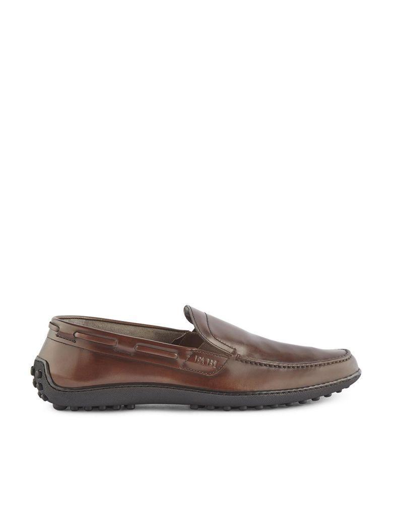 Fabi Loafers In Marrone