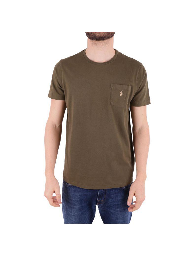Ralph Lauren Cotton Polo Shirt In Green