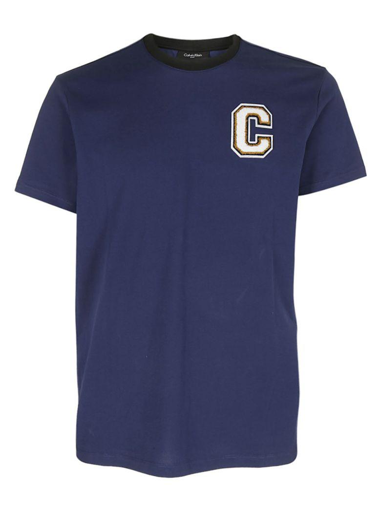 Calvin Klein Loose Fit T-shirt In Blu