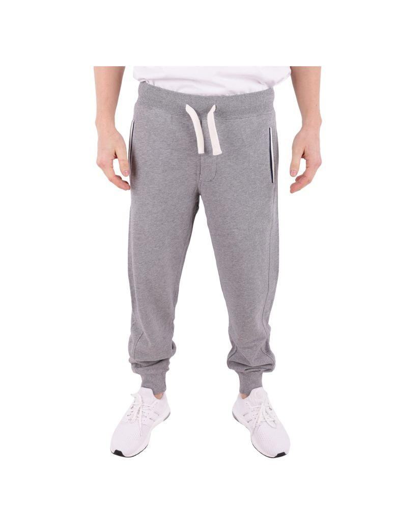 Sun 68 Cotton Trousers In Grey