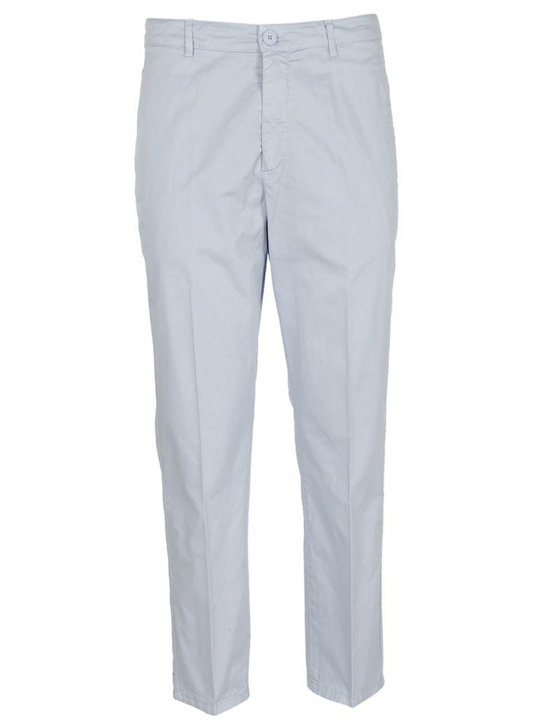Dondup Classic Trousers In Celeste