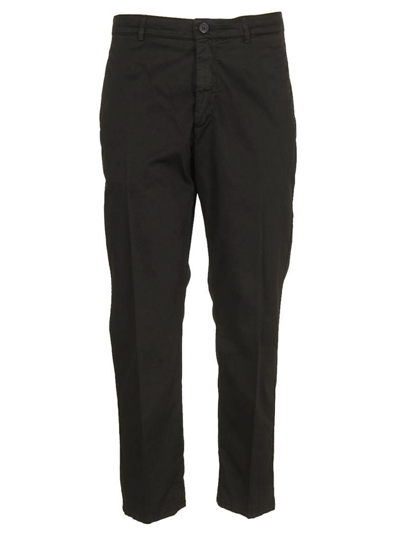 Dondup Cropped Trousers In Nero