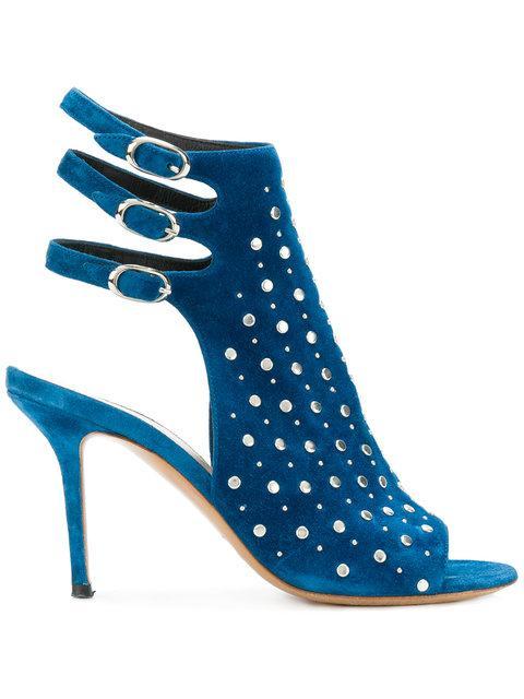 Premiata Studded Sandals - Blue