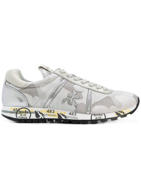 Premiata 'lucy-d' Sneakers - Grau In Grey