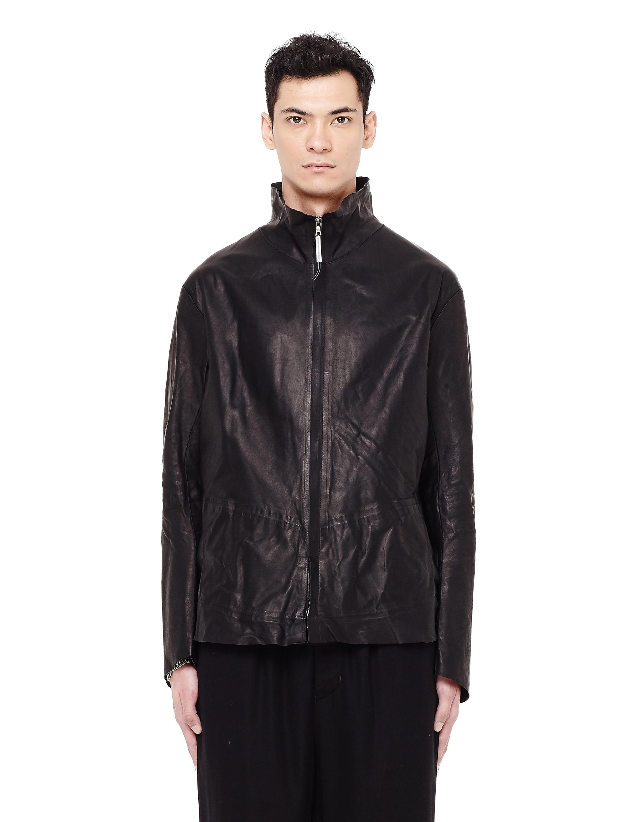 Isaac Sellam Leather Jacket In Black