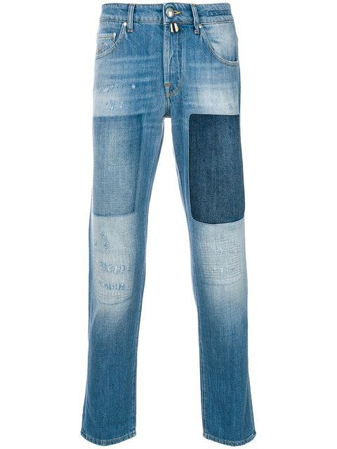 Jacob Cohen Patchwork Jeans