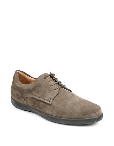 Hugo Men's Classic Flat Leather Derbys-dark Beige