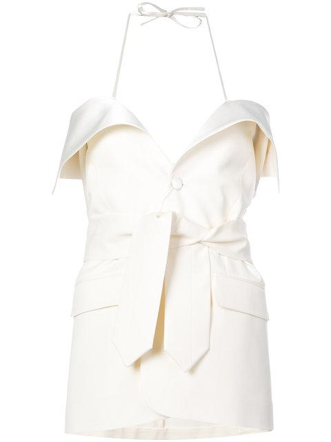 Maison Margiela Fitted Tailored Dress