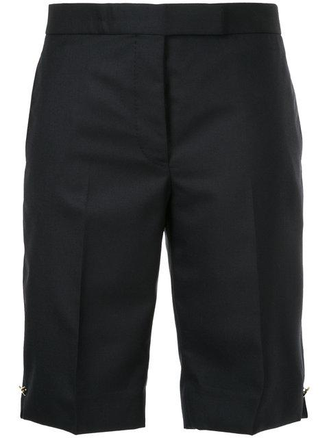 Thom Browne Tailored Shorts In Blue