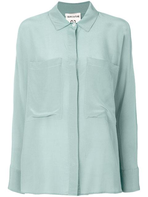 Semicouture Chest Pocket Shirt