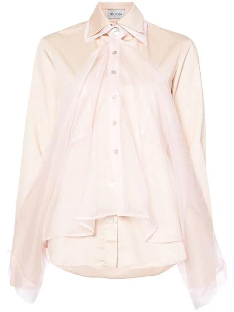 Balossa Altaja Cravat Trim Shirt
