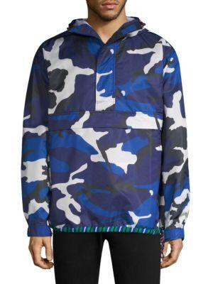 Tommy Hilfiger He Camouflage Jacket In Camo Print
