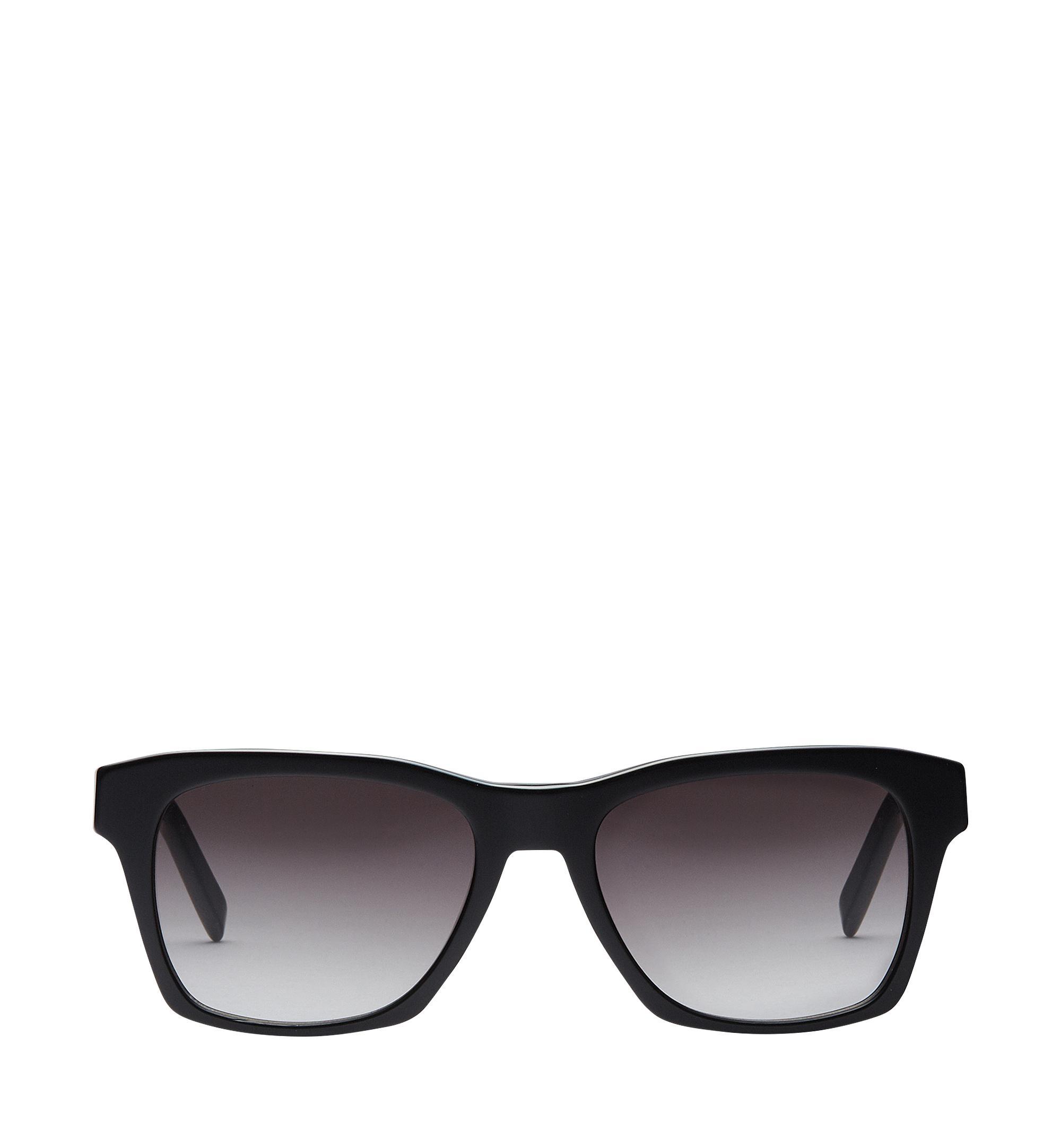 dce1556dbdf Mcm Rectangular Logo Plaque Sunglasses In Bk