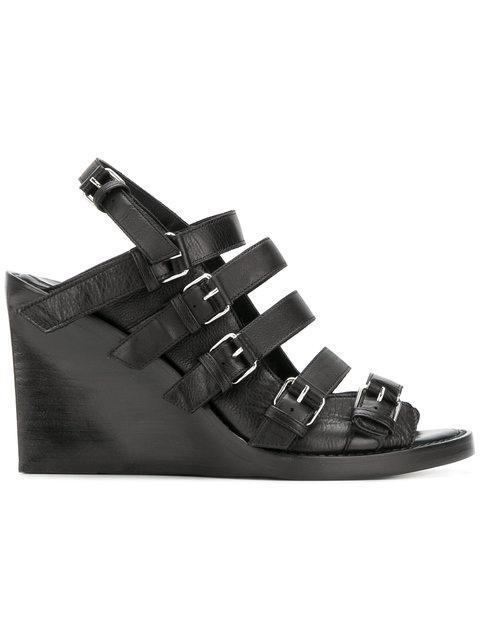 Ann Demeulemeester Platform Heel Sandals
