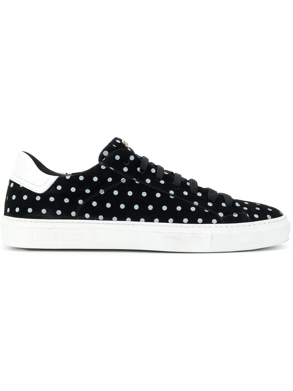 Hide & Jack Polka Dot Sneakers