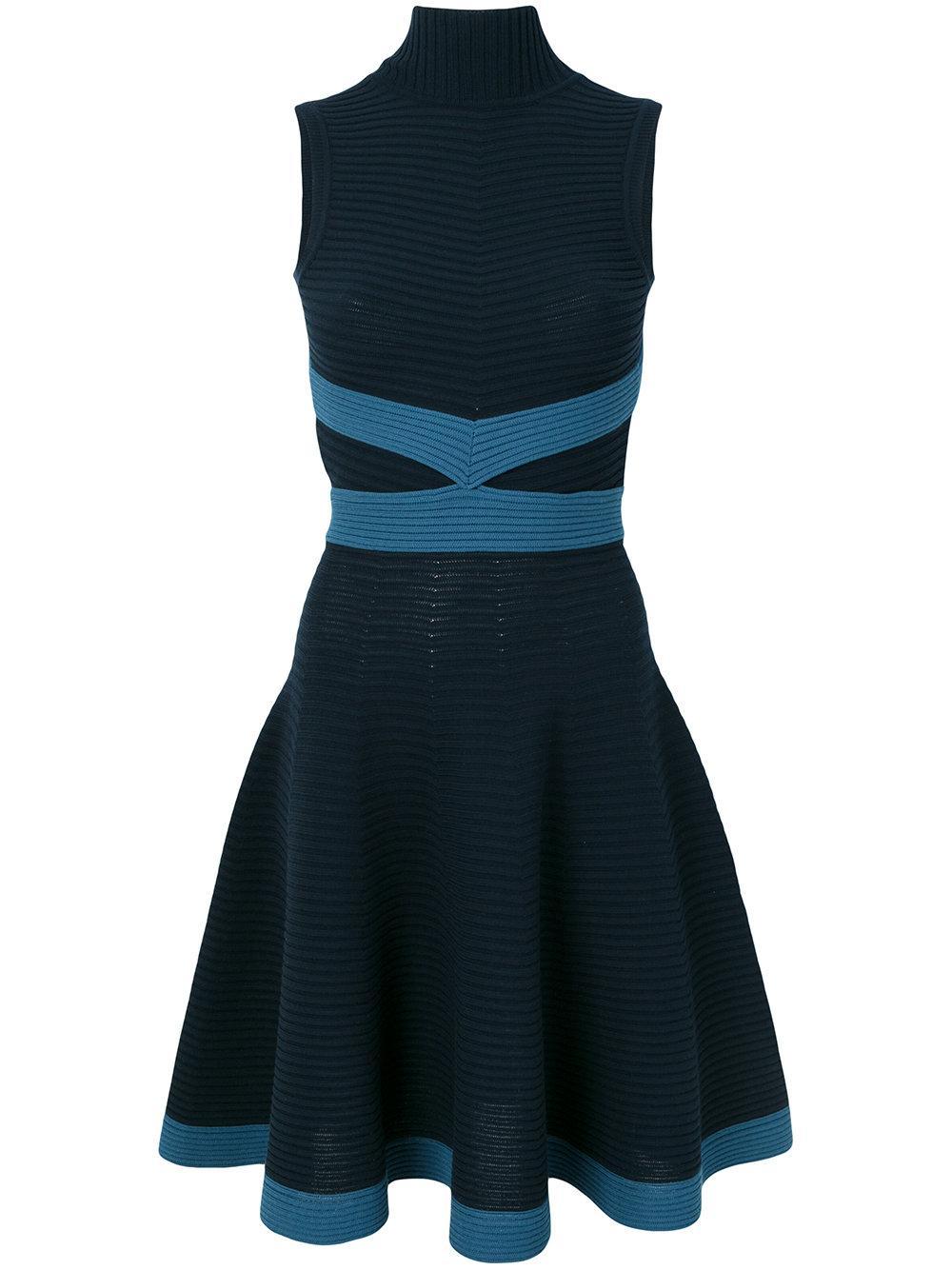 Fendi Ribbed Sleeveless Dress