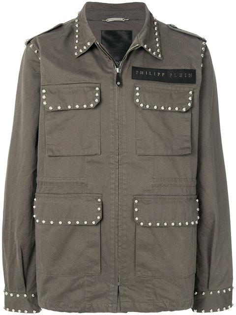 Philipp Plein Multi-pocket Jacket - Green