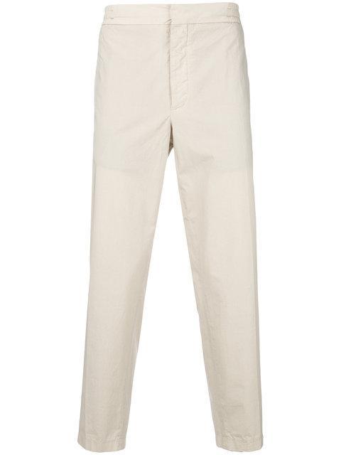 Barena Venezia Barena Cropped Straight Leg Trousers - Neutrals