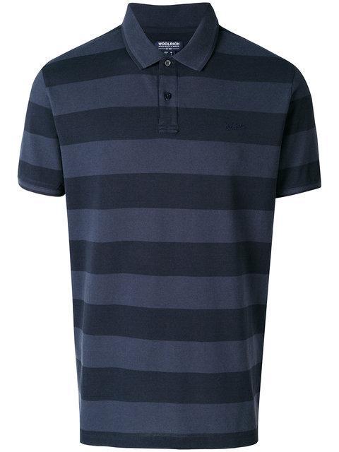 Woolrich Striped Polo Shirt