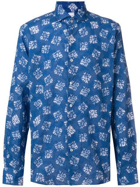 Xacus Printed Long Sleeve Shirt