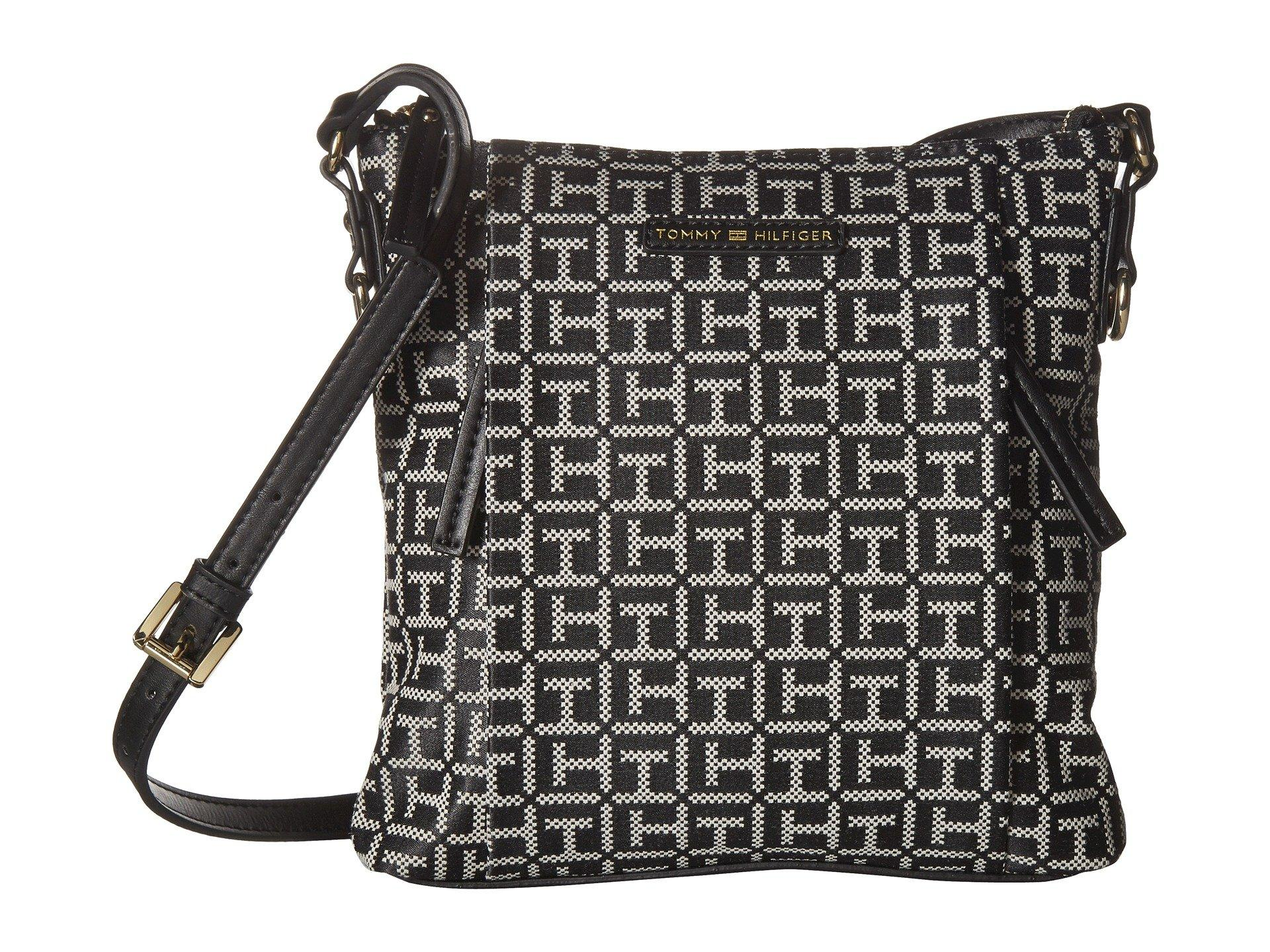 Tommy Hilfiger Kelby Tote, Black/white