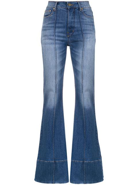 AmapÔ Paris Flared Jeans In Azul