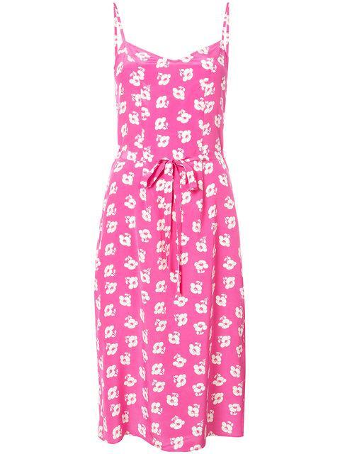 Harley Viera-newton Harley Viera Newton Lily Poppy Slip Dress - Pink