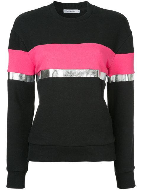 Guild Prime Contrast Stripe Sweatshirt - Black