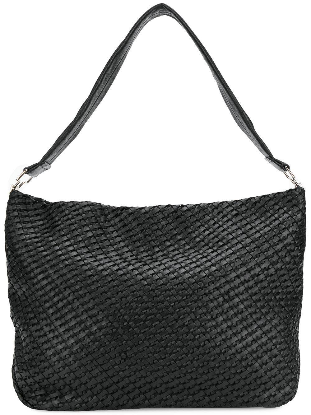 Desa Intrecciato Weave Shoulder Bag