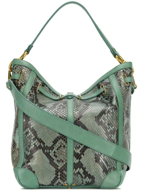 JÉrÔme Dreyfuss Tanguy Tote In Green