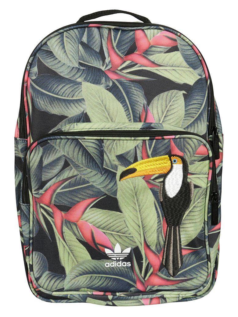 Adidas Originals Tropical Backpack In Multicolor