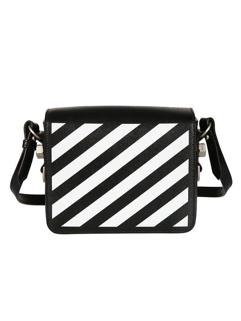 Off-white Industrial Tape Shoulder Bag In Black