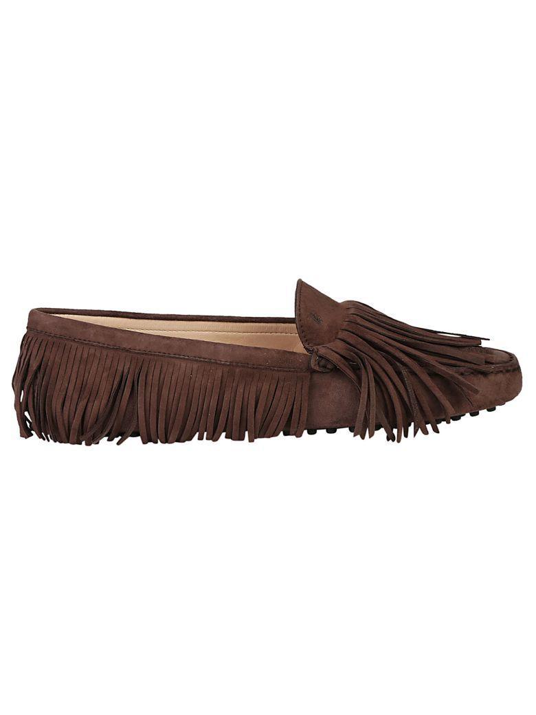 Tod's Loafers In Cioccolato